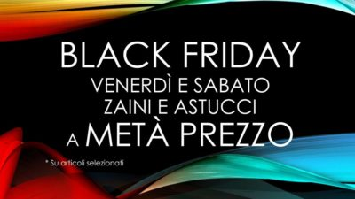 BLACK FRIDAY ZAINI E ASTUCCI