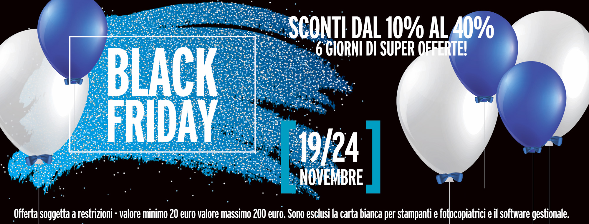 PUNTOCONTABILE BUFFETTI BLACK FRIDAY