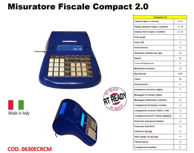 REGISTRATORE DI CASSA TELEMATICO COMPACT 2.0