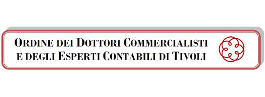 convenzione ordine dei dottori commercialisti di Tivoli